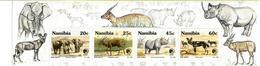 NAMIBIA- 1993- Endangered Wild Animals- MNH Miniature Sheet - Namibia (1990- ...)