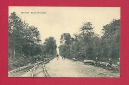 C.P. Baudour  =  Route  D'  HERCHIES - Saint-Ghislain