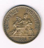 1 FRANC 1922 FRANKRIJK /4270/ - H. 1 Franc