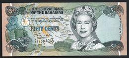 BAHAMAS - ½ Dollar {50 Cents} 2001 UNC P.68 - Bahamas