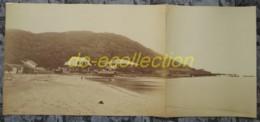 VIETNAM Grande Photographie C. 1880 Panorama Baie Des Cocotiers Cap Saint Jacques VUNG TAU Photo Indochine Cochinchine - Photos