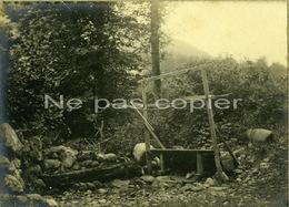 CAUTERETS Un Lavoir Vers 1900 Photo D'époque Hautes-Pyrénées 65 - Lieux