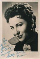 OPERA Austrian Soprano EMMY LOOSE - Autograph Hand Signed Dedicacee - Photo 15x10 1950' - Dédicacées