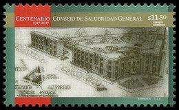 2017 MÉXICO Centenario Consejo De Salubridad General 1917-2017 MNH Centennial General Health Council, ARCHITECTURE - México