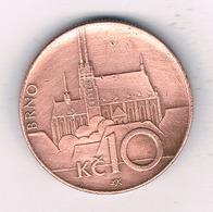 10 KORUN  2003 BRNO  TSJECHIE /4275/ - Tchéquie