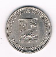 50 CENTIMOS  1965  VENEZUELA /4276// - Venezuela