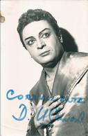 OPERA Bulgarian Baritone DIMITER UZUNOV Turandot - Autograph Hand Signed Dedicacee - Photo 14x9 1961 - Dédicacées