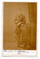 PHT7 Grande Photo 19ème 11x16 Cm. Henri De Bourbon Comte De Bardi - Personnes Identifiées