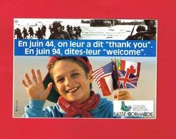 1 Autocollant CINQUANTENAIRE DU DÉBARQUEMENT 1944-1994 - Autocollants