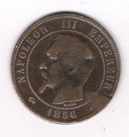 10 CENTIMES 1856 A  FRANKRIJK /4277/ - D. 10 Centimes