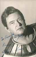 OPERA British Tenor CHARLES CRAIG In Aida As Radames - Autograph Hand Signed Dedicacee - Photo 14x9 1966 - Dédicacées