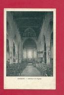 C.P. Baudour  = L'  Eglise  :  Intérieur - Saint-Ghislain