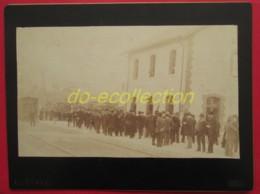FRANCE Photographie Ancienne C. 1888 SALERNES Gare Inauguration Ligne Chemin De Fer évènement Train Des Pignes Photo VAR - Photos