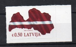 LETTONIE - LATVIA - 2018 - DRAPEAU - FLAG - - Lettonie