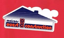 1 Autocollant MAISONS OUEST CONSTRUCTION - Autocollants