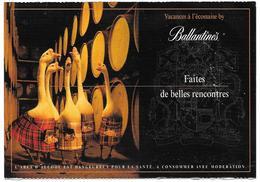 Vacances à L'écossaise By Ballantine's - Whisky, Oies En Kilt - Publicité