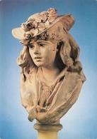 Auguste Rodin Femme Au Chapeau Fleuri Musée Rodin (2 Scans) - Schöne Künste