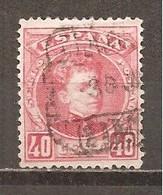 España/Spain-(usado) - Edifil  251 - Yvert 221 (o) - 1889-1931 Reino: Alfonso XIII