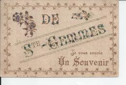 SAINTE GEMMES   Je Vous Envoie Un Souvenir 1907 - Frankrijk