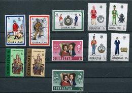 Gibilterra - 1972 - Annata Completa / Complete Year Set ** MNH / VF - Gibraltar