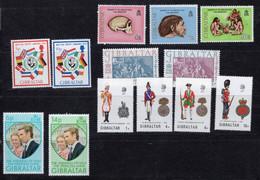 Gibilterra - 1973 - Annata Completa / Complete Year Set ** MNH / VF - Gibilterra