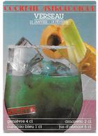 COCKTAILS ASTROLOGIQUES - VERSEAU - LE TRIBULUM - Ed. NUGERON N° 11 - 1987 - Recettes (cuisine)