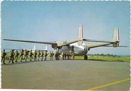 ~  JP  ~    EMBARQUEMENT A BORD D  '  UN NORD  2501      ~ - Paracadutismo