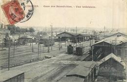 87 LIMOGES  Gare Des Bénédictins  Vue Intérieure     2scans - Limoges