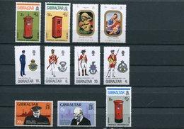 Gibilterra - 1974 - Annata Completa / Complete Year Set ** MNH / VF - Gibilterra