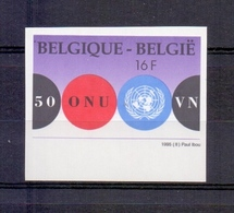 2601 UNO ONGETAND POSTFRIS** 1995 - Belgique