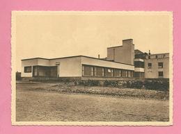 C.P. Baudour  = Fédération  Des  Mutualités Socialistes Du  Borinage : Clinique Louis Caty  :  Une  Vue  De  Côté - Tramways
