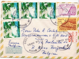Postal History Cover: Brazil Stamps On Cover - Holidays & Tourism