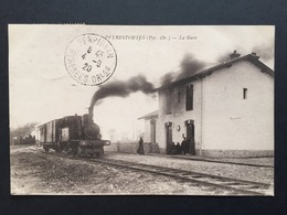 CPA Peyrestortes La Gare - France