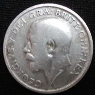 ROYAUME-UNI 1 Shilling Georges V / Lion Surmontant Une Couronne 1920, TB - 1902-1971 : Monete Post-Vittoriane