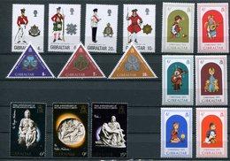 Gibilterra - 1975 - Annata Completa / Complete Year Set ** MNH / VF - Gibraltar