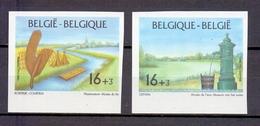 2582/2583 PROMOTIE VAN DE FILATELIE ONGETAND POSTFRIS** 1995 - Belgique