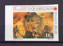 2549 QUAREGNON ONGETAND POSTFRIS** 1994 - Belgique