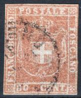 Toscana 1860 Governo Provvisorio Sass.22 O/Used F - Toscana