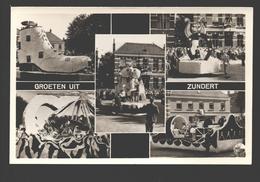 Zundert - Groeten Uit Zundert - Bloemencorso Zundert - Multiview - 1954 - Pays-Bas