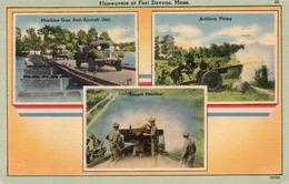 MANEUVERS AT FORT DEVENS-MASS-1943 - Manovre
