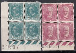 1933 Yvert Nº 291, 293,   MNH - Francia