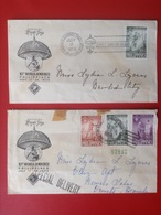 Briefe 2 Cover First Day Cover Philippines 1959 World Jamboree - Philippinen