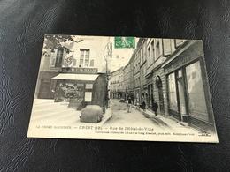 19 - CREST Rue De L'Hotel De Ville - 1913 Timbrée - Crest