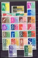 202P - Indonésie-indonesia - 283-306 MNH - 2 Timbres MH Légère - Asian Games 1962 - Indonésie