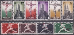 ESPAÑA 1960 Nº 1280/1289 USADO - 1931-Hoy: 2ª República - ... Juan Carlos I