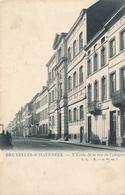 CPA - Belgique - Brussels - Bruxelles - Schaerbeek - L'Ecole De La Rue De Cologne - Schaarbeek - Schaerbeek