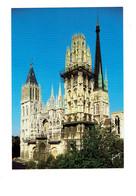 Cpm - 76 - Rouen - Cathédrale - Travaux échafaudage - Yvon 10 76 0054 - Rouen