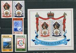 Gibilterra - 1977 - Annata Completa / Complete Year Set ** MNH / VF - Gibilterra