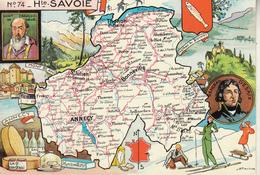 N° 74 - Hte SAVOIR  Par J.P. Pinchon - Edition :Blondel La Rougery - Maps