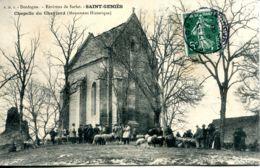 N°72962 -cpa Saint Geniès -chapelle Du Cheylard- - France